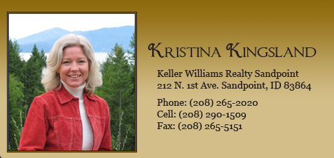 Kristina Kingsland North Idaho Real Estate Agent