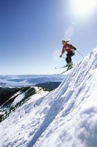 Kris Kingsland Ski Jump